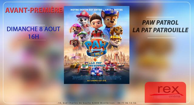 Avant-Première : PAT PATROUILLE LE FILM - Dimanche 8 août 16h