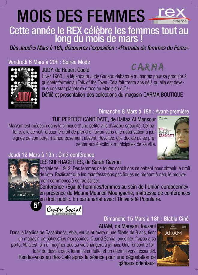 MOIS DES FEMMES : Tout au long du mois de mars participez au mois des femmes!
