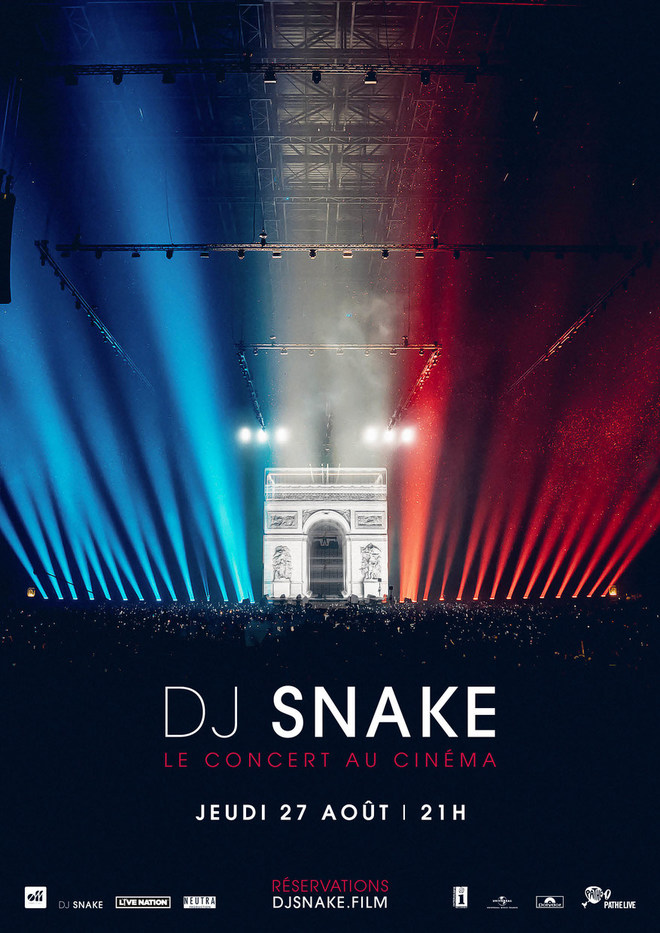 DJ SNAKE, le concert au Cinéma Rex!