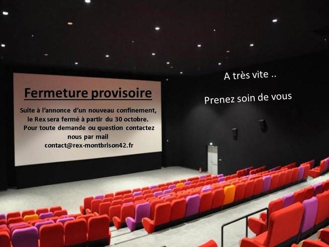 Fermeture suite au confinement, pour vos questions écrivez nous : contact@rex-montbrison42.fr
