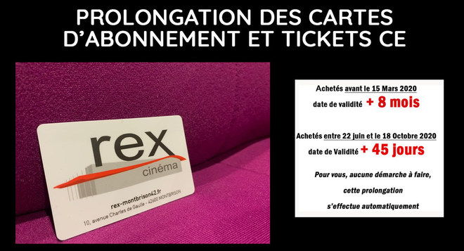 Prolongation cartes