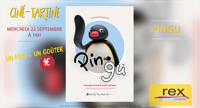 Ciné-Tartines : PINGU - 22 Septembre à 16h