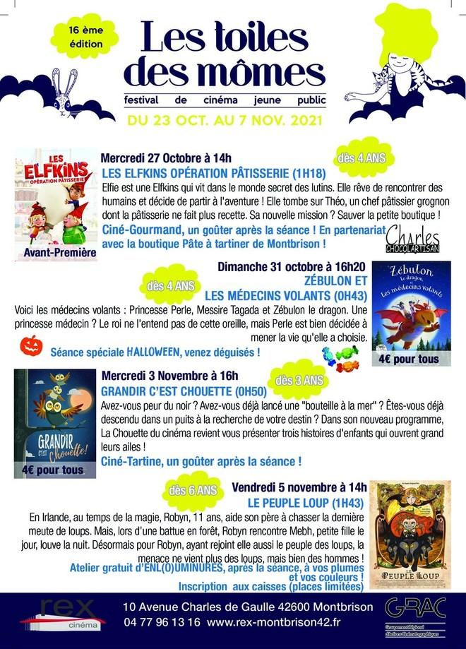 Festival Les Toiles des Mômes - Du 23 Octobre au 7 Novembre