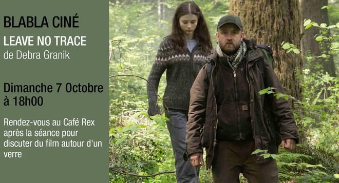 Blabla Ciné - LEAVE NO TRACE - Dimanche 7 octobre à 18h