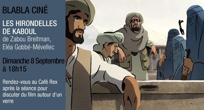 Ciné Blabla - Les Hirondelles de Kaboul - 8 septembre à 18h15