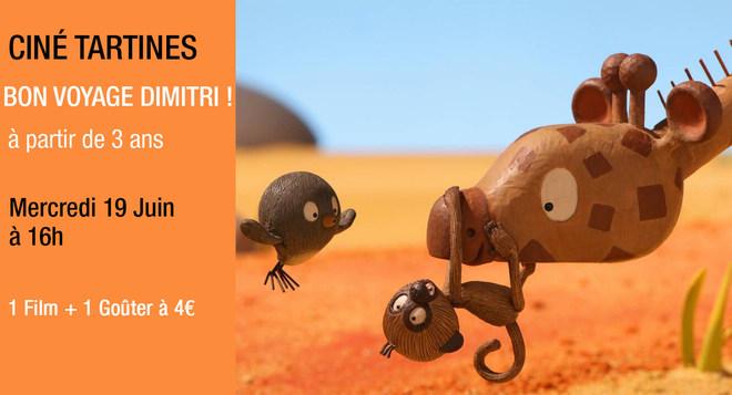 Tartines - Bon voyage Dimitri - 19 Juin