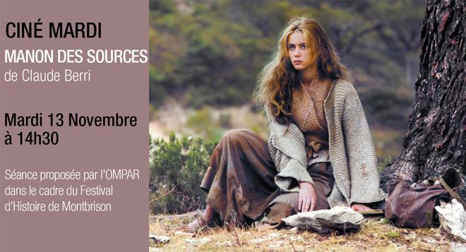 Ciné Mardi - MANON DES SOURCES - 13 novembre à 14h30