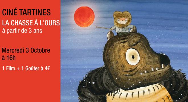 Ciné Tartines - Mercredi 3 octobre à 16h