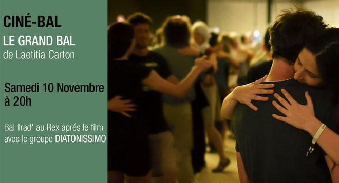 Ciné Bal - LE GRAND BAL Samedi 10 novembre à partir de 20h