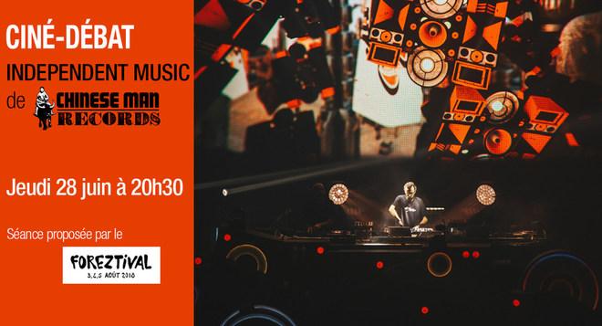 Ciné-Débat avec CHINESE MAN RECORDS - jeudi 28 juin à 20h30