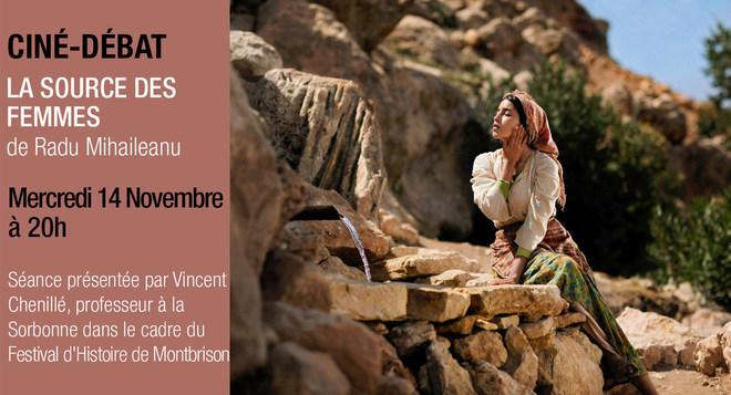 Ciné Débat - LA SOURCE DES FEMMES - Mercredi 14 Novembre à 20h
