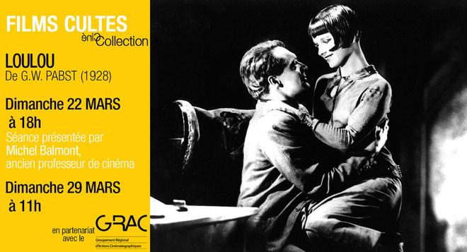 Films Cultes - LOULOU - le 22 Mars à 18h