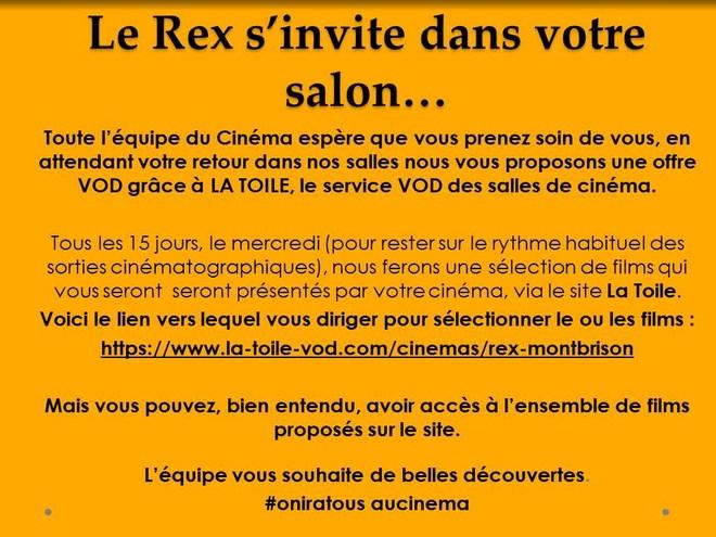 Le Rex s'invite dans votre salon....