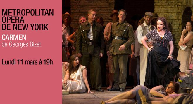 Metropolitan Opéra de New York - CARMEN - Lundi 11 mars à 19h