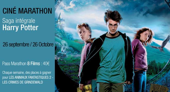 Ciné-Marathon Harry Potter