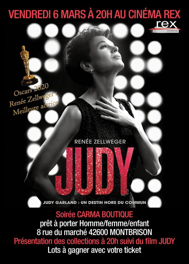 Vendredi 6 mars 20h - JUDY Soirée MODE