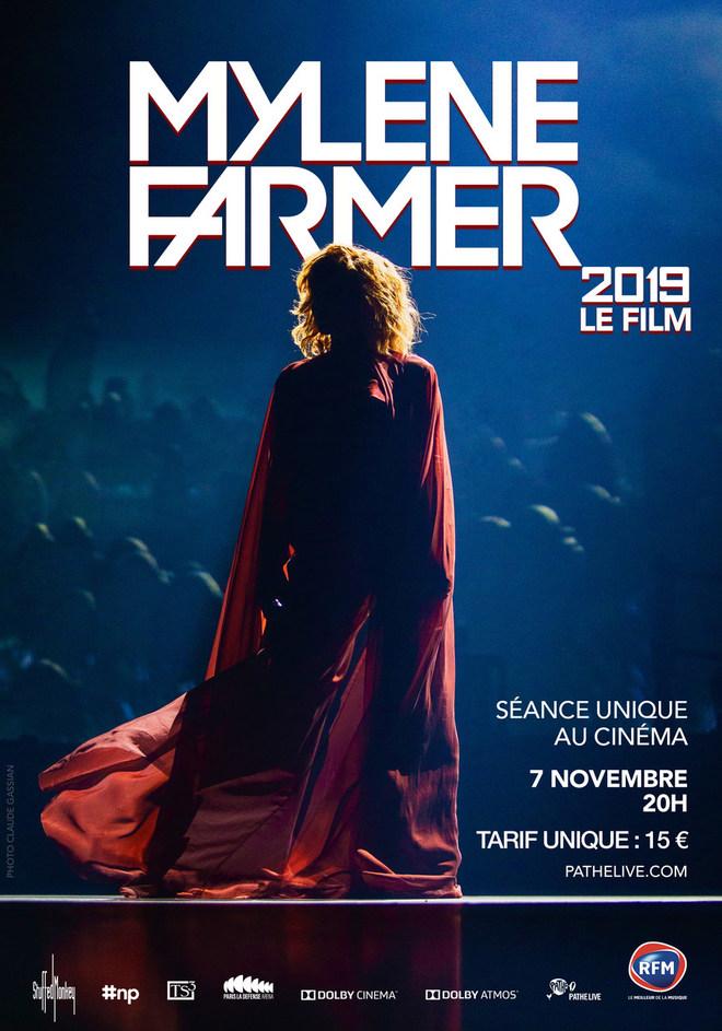 Mylène Farmer 2019 - Le Film - le 7 novembre à 20h
