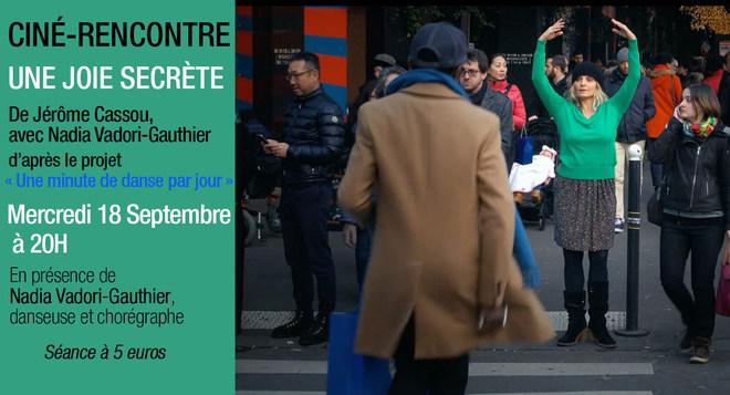 Ciné Rencontre - Une joie secrète - 18 septembre à 20h