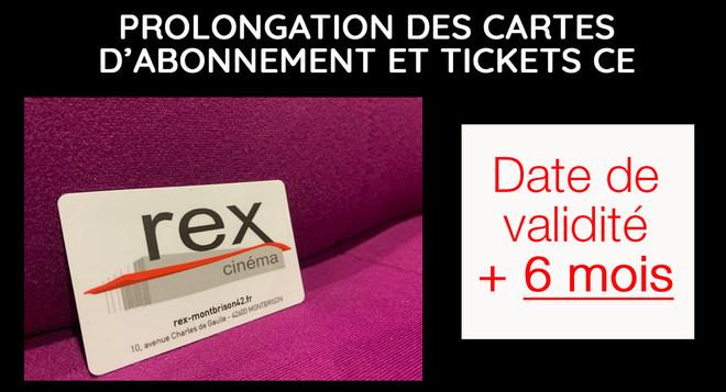 Prolongation de vos cartes d'abonnement et tickets CE!