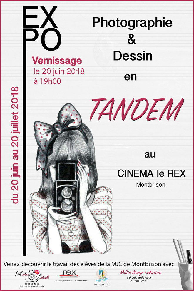 Expo Photo et Dessin en Tandem - 20 juin / 20 juillet