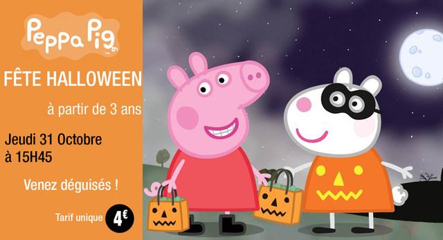 Peppa Pig fête Halloween !