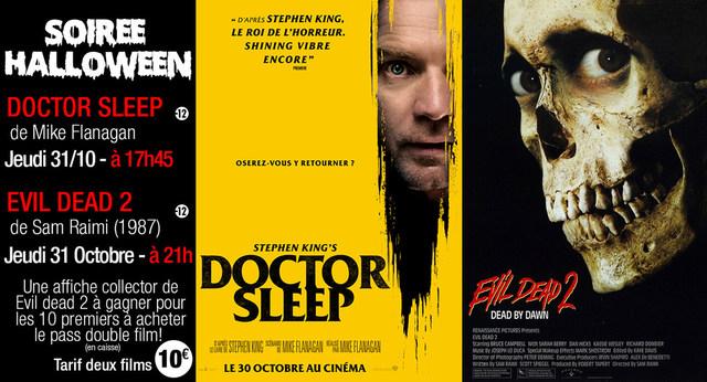 Soirée Horreur : Jeudi 31 octobre, deux films pour deux fois plus de frissons!